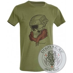 D.FIVE T-Shirt Skull with...